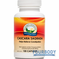 Nature's Sunshine Cascara Sagrada 400mg 100 caps