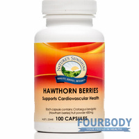 Nature's Sunshine Hawthorn Berries 450mg 100 caps