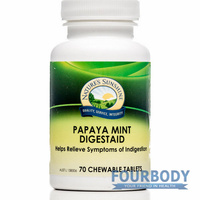Nature's Sunshine Papaya Mint Digestaid Chewable 480mg 70 tabs