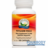 Nature's Sunshine Psyllium Hulls 500mg 100 caps