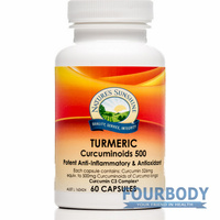 Nature's Sunshine Turmeric Curcuminoids 500 60 caps