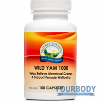 Nature's Sunshine Wild Yam 1000 100 caps