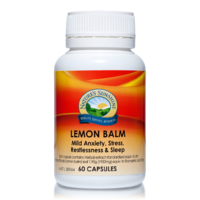 Nature's Sunshine Lemon Balm 60c