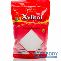 Nirvana Organics Xylitol Stand-Up Pouch Ziplock 1kg