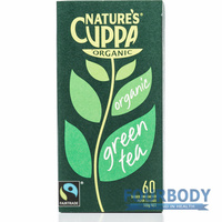 Nature's Cuppa Green Tea 108g 60 tea bags