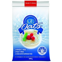 Gloriously Free Uncontaminated Oats Organic 500g