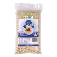 Gloriously Free Uncontaminated Oats Organic 2kg
