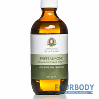 Oil Garden Aromatherapy Carrier Sweet Almond Oil 200ml