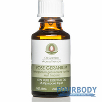 Oil Garden Aromatherapy Rose Geranium Oil 25ml