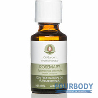 Oil Garden Aromatherapy Rosemary Oil 25ml
