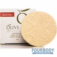 Olive Oil Skin Care Manuka Honey Soap 100g