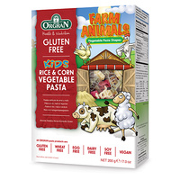Orgran Gluten Free Kids Animal Shape Pasta 200g