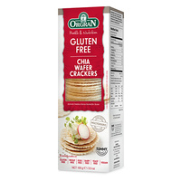 Orgran Gluten Free Chia Wafer Crackers 100g