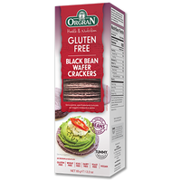 Orgran Black Bean Wafer Crackers 65g