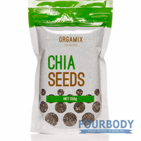 Orgamix Natural Black Chia Seeds 250g