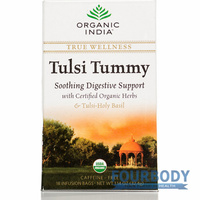 Organic India Wellness Tea Tulsi Tummy 18 tea bags