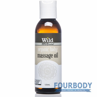 Wild Organic Baby Massage Oil 125ml