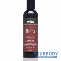 Wild Herbal Henna Shampoo 250ml