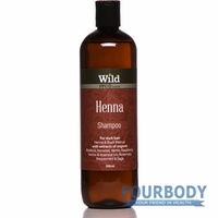 Wild Herbal Henna Shampoo 500ml