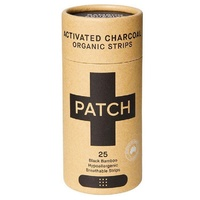 Patch Activated Charcoal Adhesive Strips Tube