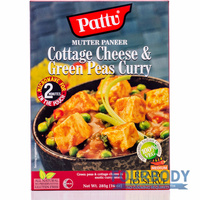 Pattu Cottage Cheese Green Pea Curry 285g