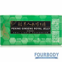 Exportim Peking Ginseng Royal Jelly 3000 Green Label 30x10ml