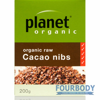 Planet Organic Cacao Nibs 200g