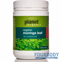 Planet Organic Moringa Leaf Powder 300g
