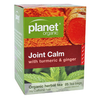 Planet Organic Joint Calm Tumeric & Ginger 25s Tea Bags