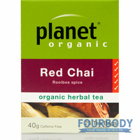 Planet Organic Red Chai 40g 25 tea bags