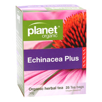 Planet Organic Echinacea Plus 25s Tea Bags