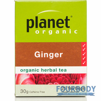 Planet Organic Ginger 30g 25 tea bags