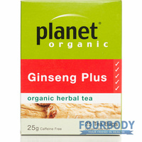 Planet Organic Ginseng Plus 25 tea bags