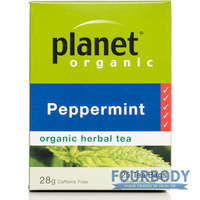Planet Organic Peppermint 28g 25 tea bags