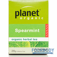 Planet Organic Spearmint 28g 25 tea bags