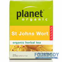 Planet Organic St Johns Wort 25g 25 tea bags