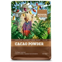 Power Super Foods Cacao Powder Raw Organic 250g