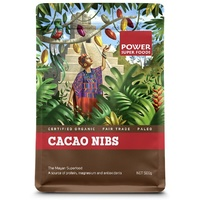 Power Super Foods Cacao Nibs Raw Organic 250g