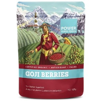 Power Super Foods Goji Berries Organic 125g