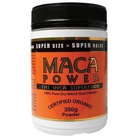 Power Super Foods Maca Powder Organic Cylinder 500g