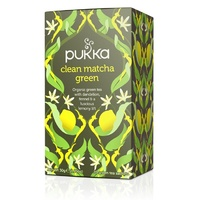Pukka Clean Matcha Green 20s Tea Bags