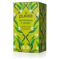 Pukka Lemongrass & Ginger 20s Tea Bags