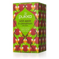 Pukka Wild Apple & Cinnamon 20s Tea Bags