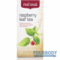 Red Seal Raspberry Leaf Tea 25 tea bags