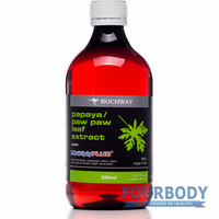 Rochway Paw Paw Leaf Extract 500ml