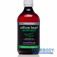 Rochway Olive Leaf Extract Peppermint 500ml