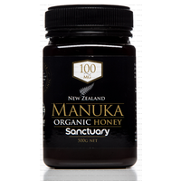 Sanctuary Manuka Honey 100MG  Organic 500g