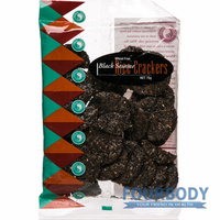 Spiral Foods Black Sesame Cracker 75g