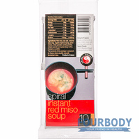 Spiral Foods Instant Red Miso Soup 70g