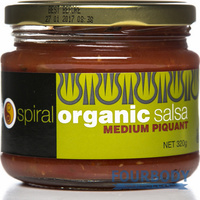 Spiral Foods Salsa Medium Piquant 355g